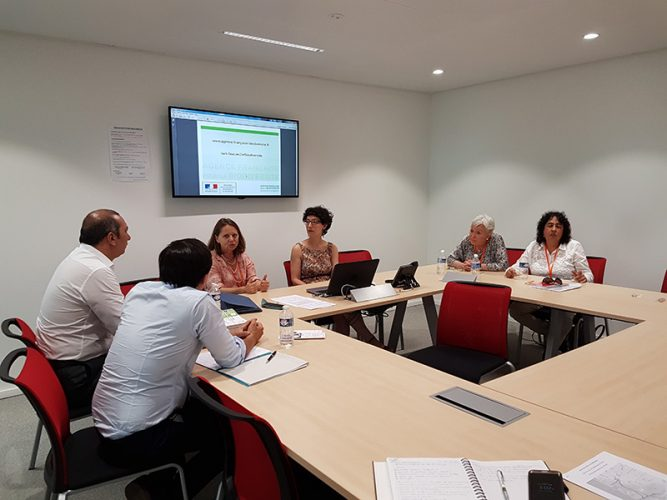 Gestión diplomática ambiental en Ministry of ecology and solidarity transition - Paris
