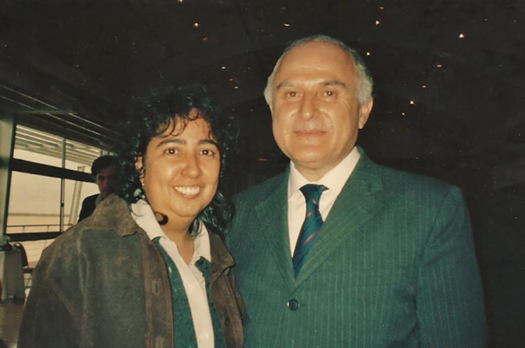 Con el Gobernador de Santa Fé, Argentina - Miguel Lifschitz