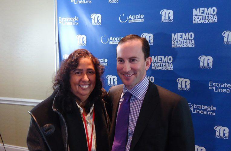 Con el encuestador político Balduzzi