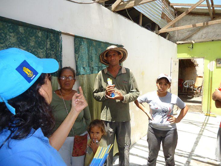 Apoyando acciones luego de Tornado - Sabanalarga