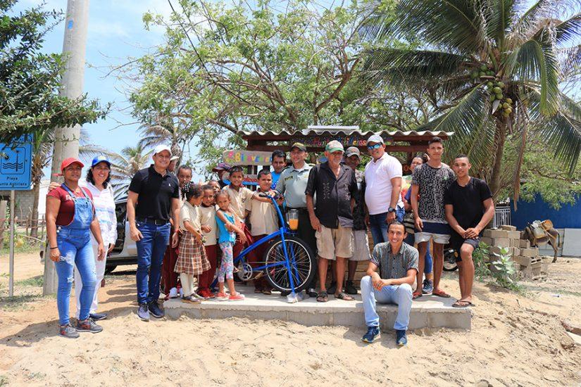 Agenda Azul - Acciones en la comunidad de Punta astilleros