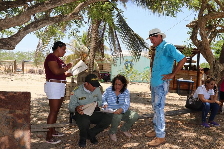 Agenda Azul - Entrega formal y Custodias a la Comunidad de Punta Astilleros